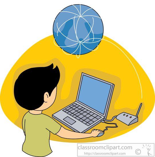542x550 Internet Clipart Laptop Computer To Surf World Wide Web Internet