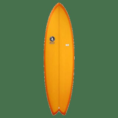 400x400 Orange Resin Surfboard Jim Banks Transparent Png