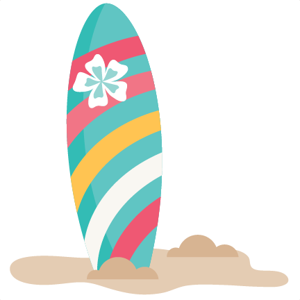 432x432 Surfboard Clipart Cute