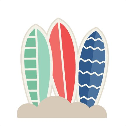 432x432 Surfboard Clipart Transparent Background