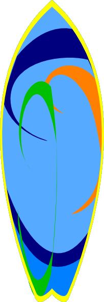204x591 Blur Clipart Surfboard
