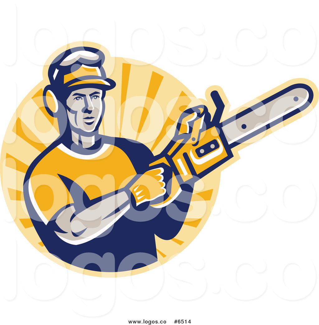 1024x1044 Royalty Free Clip Art Vector Logo Of A Tree Surgeon Arborist