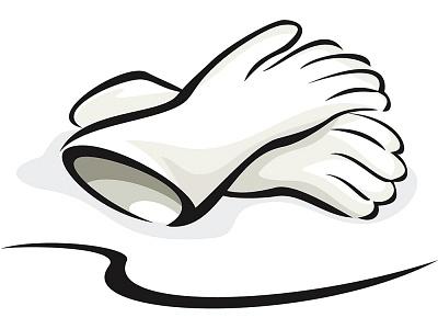 400x300 Glove Clipart Surgical Glove