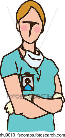 221x470 Stock Illustrations Of A Medical Assistant With Surgical Gloves