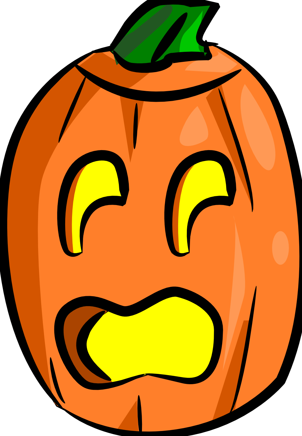 968x1397 Scary Clipart Surprised