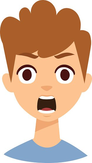 313x550 Boy Clipart Surprised