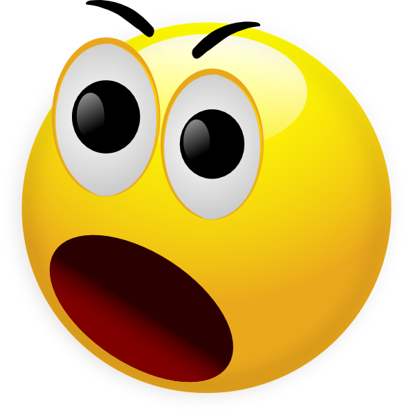 588x597 Smileys Clipart Surprised
