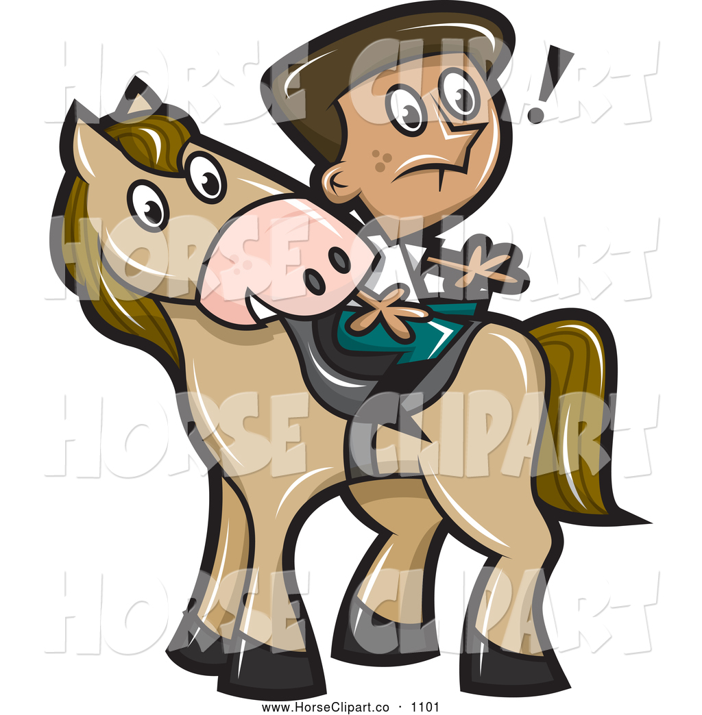 1024x1044 Clip Art Of A Surprised Boy Sitting Backwards On A Horse By Jtoons
