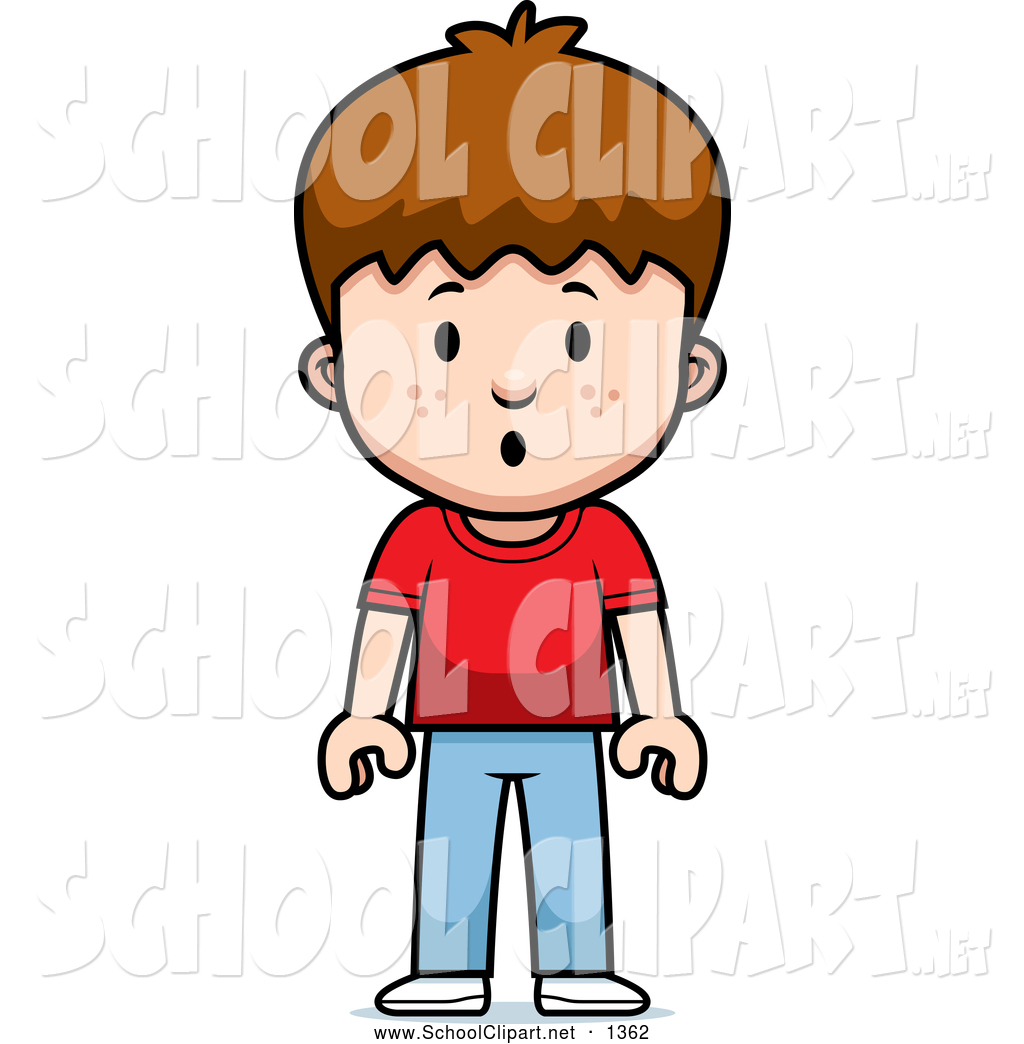 1024x1044 Clip Art Of A Surprised School Boy By Cory Thoman