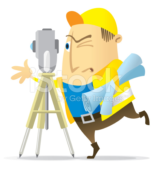 521x556 Land Surveyor Land Surveyors, Vector Art And Illustrations