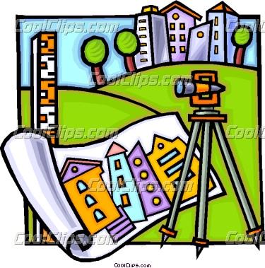 375x379 Surveying Equipment Clipart