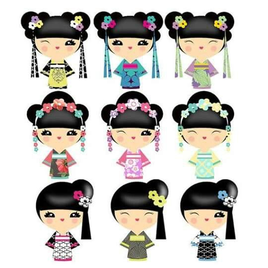 540x540 85 Best Geisha Kokeshi Clip Art Images Pictures