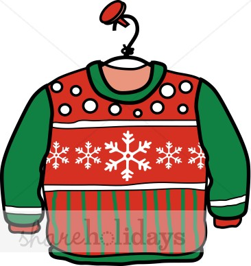 366x388 Christmas Sweater Clipart Christmas Clipart