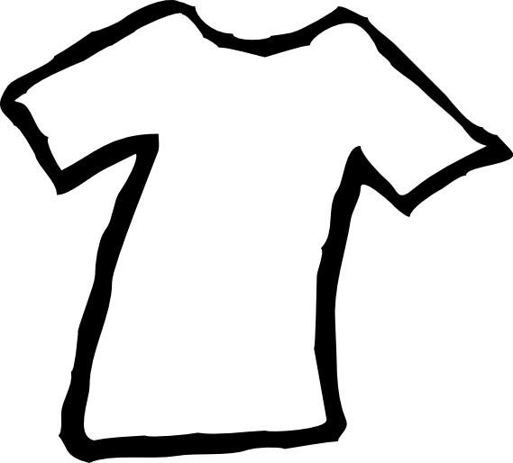 569x514 Clip Art Black And White Sweater Clipart