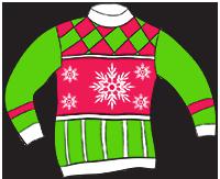 200x163 Free Christmas Sweater Clip Art Fun For Christmas