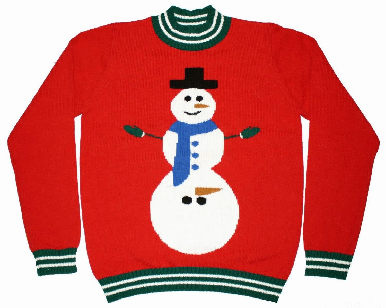 1500x1198 Snowman Ugly Christmas Sweater Clip Art