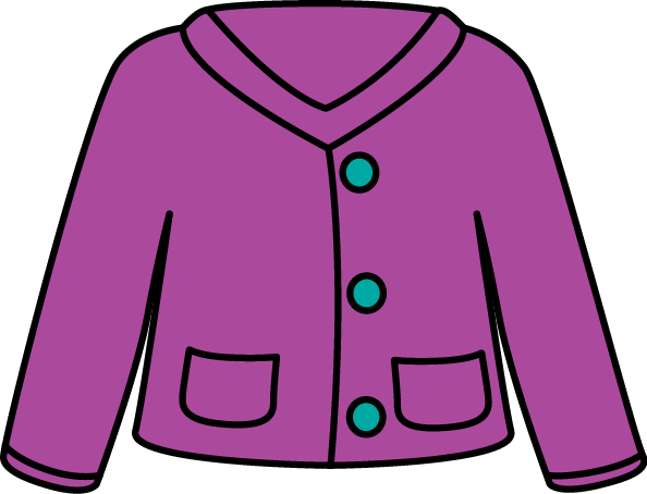 594x454 Cardigan Sweater Clip Art