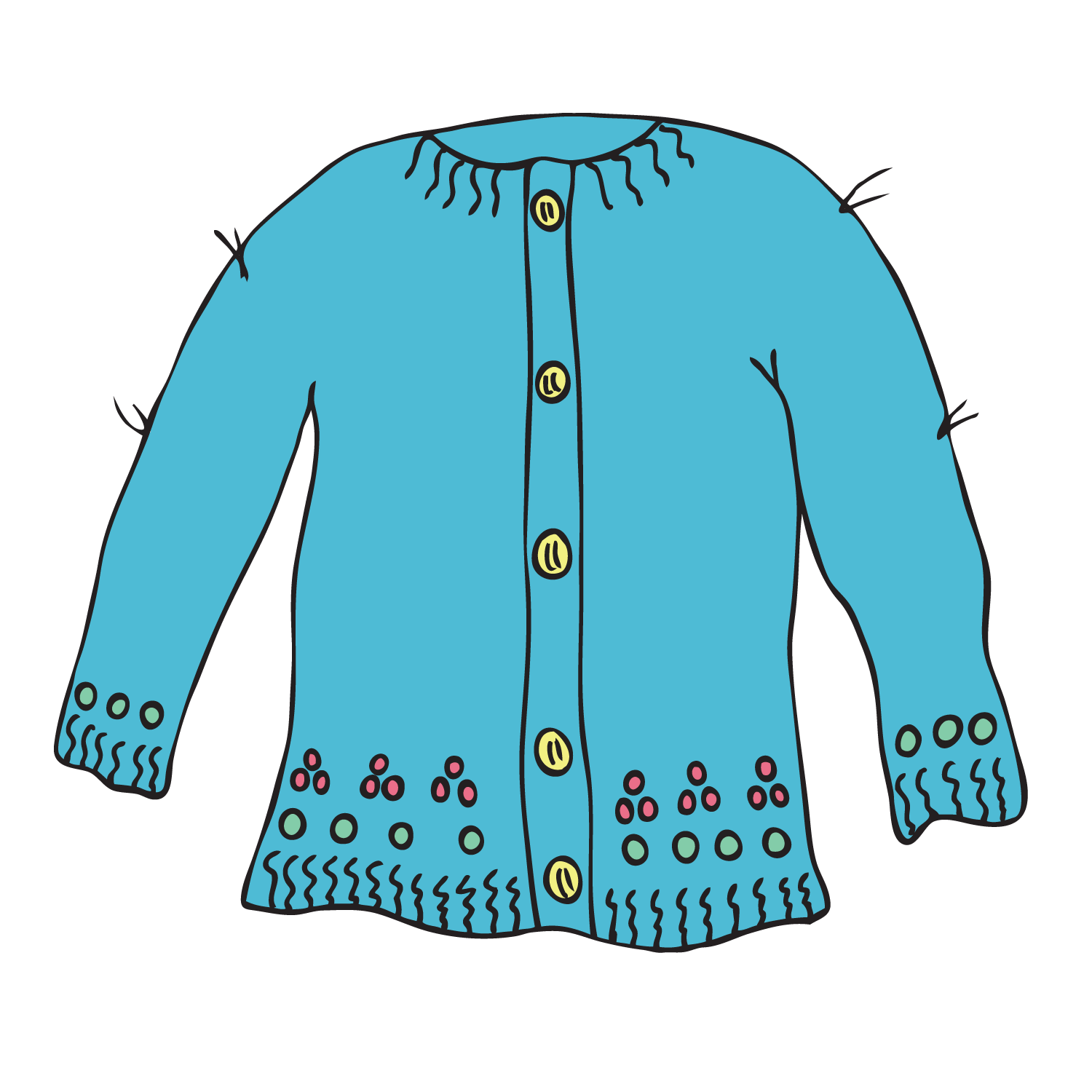 Sweaters Clipart