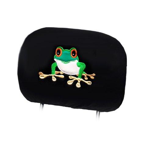 472x500 New Design 4x Frog Logo Accessories Car Seat Headrest