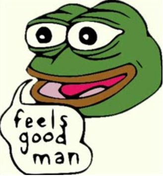 329x357 Who Is Pepe, The Cartoon Frog Hillary Clinton Is Accusing