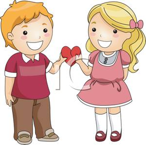 300x297 Friendship Heart Clipart
