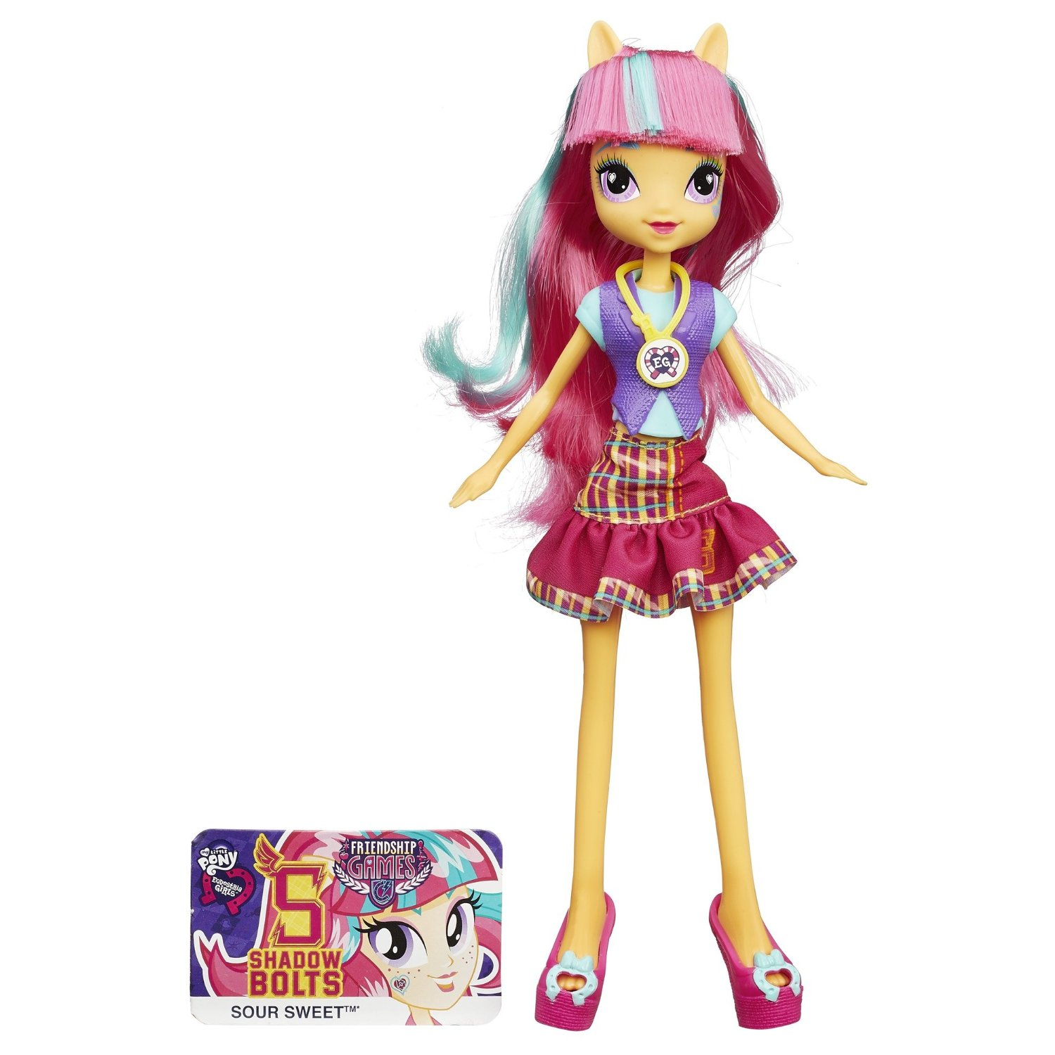 1500x1500 Mlp Equestria Girls Friendship Games Sour Sweet School Spirit Doll