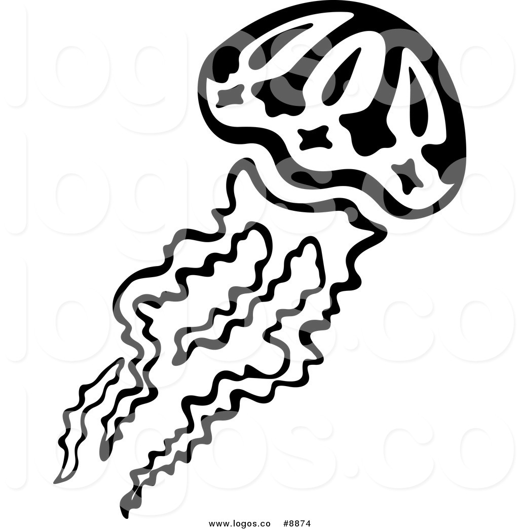 1024x1044 Royalty Free Clip Art Vector Logo Of A Black And White Swimming