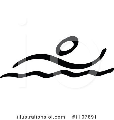 400x420 Swimming Clipart