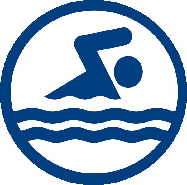 600x595 Swim Party Logo Clip Art