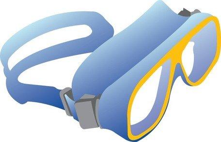 456x292 Swimming Goggles Clip Art, Vector Swimming Goggles