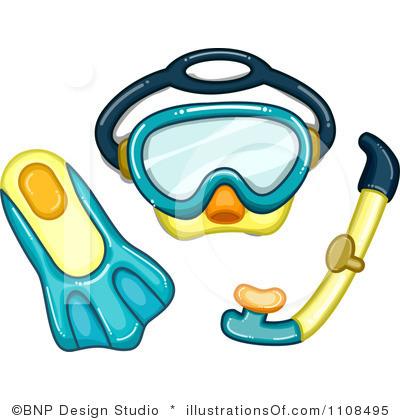 400x420 Diving Clipart Goggles