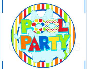 340x270 Pool Party Quotes Quotesgram Clip Art Clipart