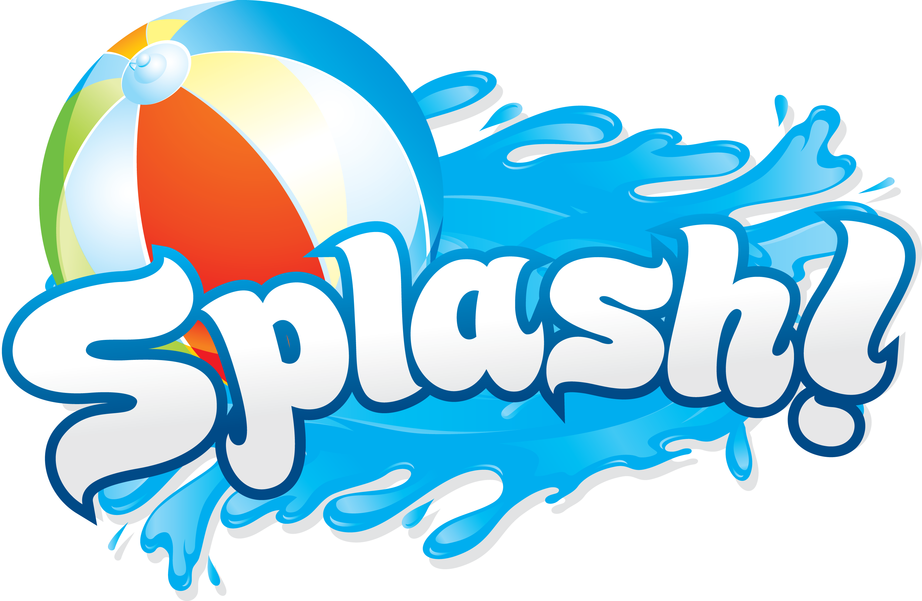 3040x1984 Pool Party Clipart