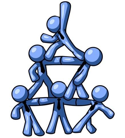 437x480 Team Building One Volunteer