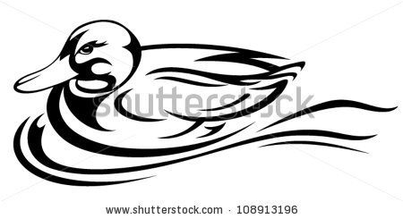 450x245 Duckling Clipart Black And White Clipart Panda
