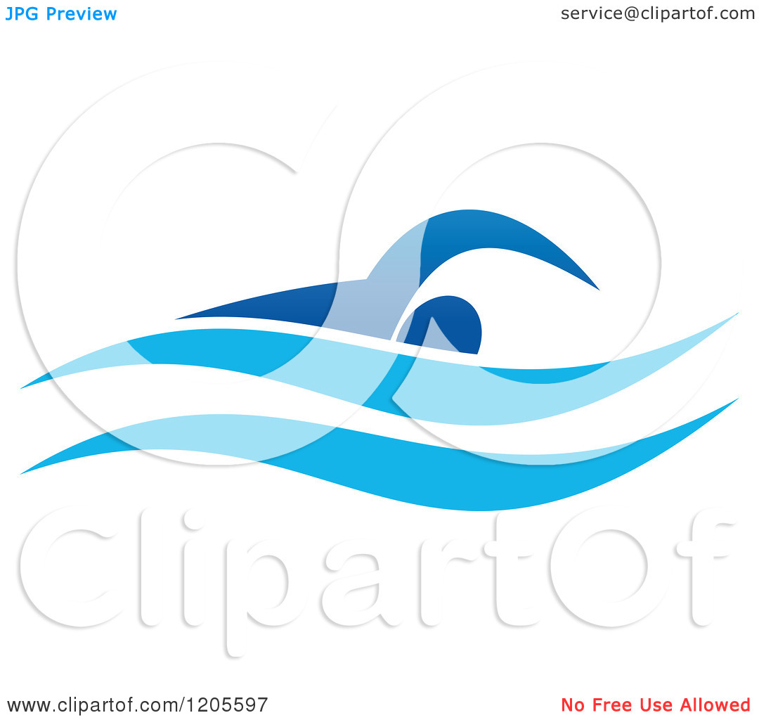 1080x1024 Swimming Logo Clipart