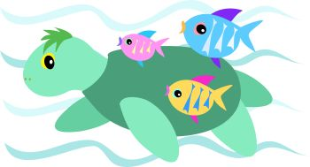 350x189 School Of Fish Clip Art Free Clipart Panda