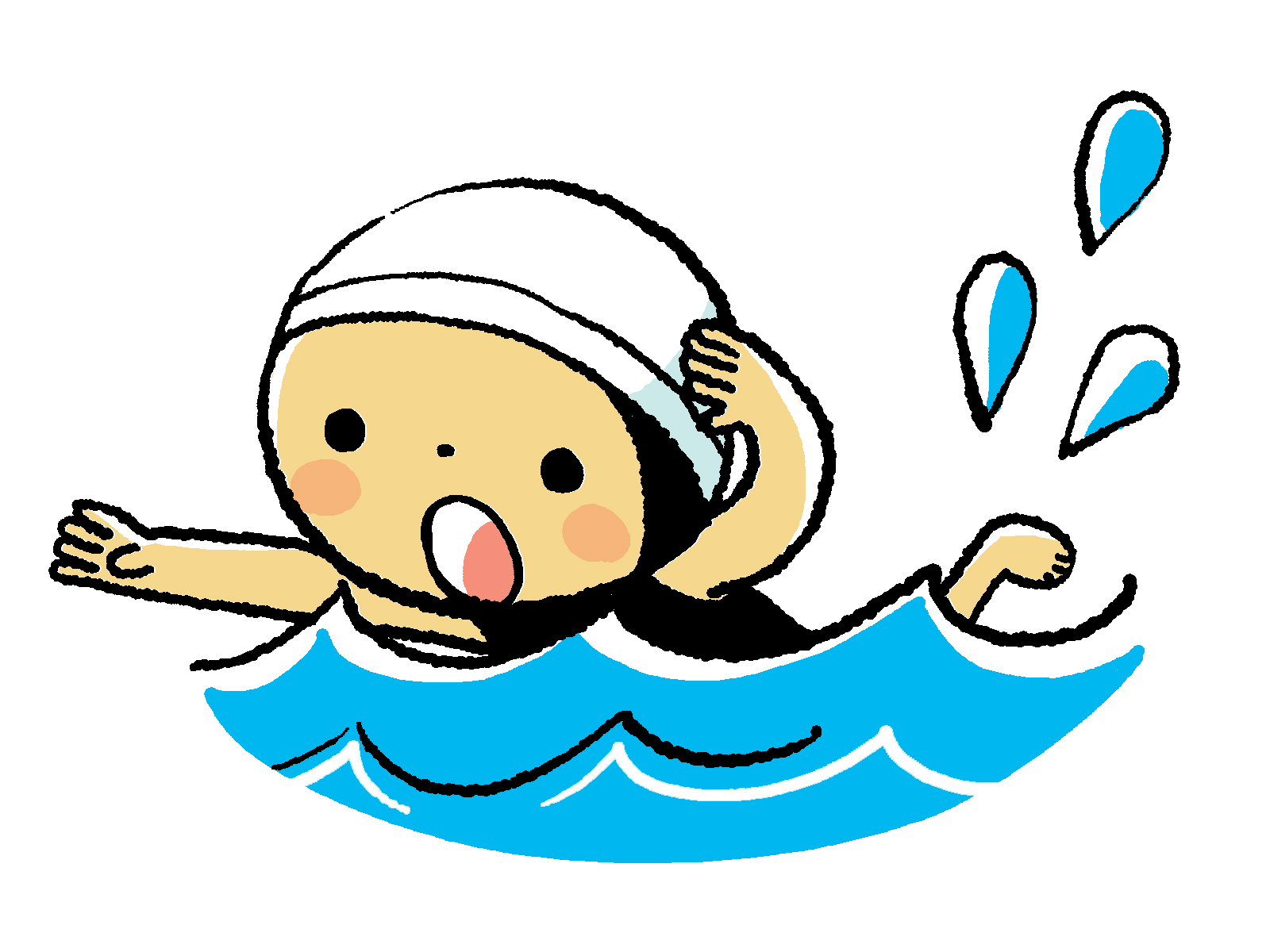 1600x1200 Swimming clipart can t
