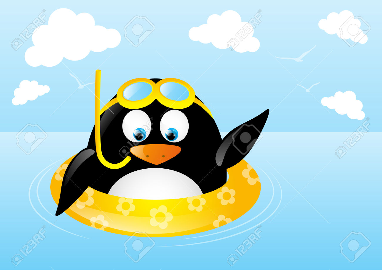1300x919 Swimming clipart funny