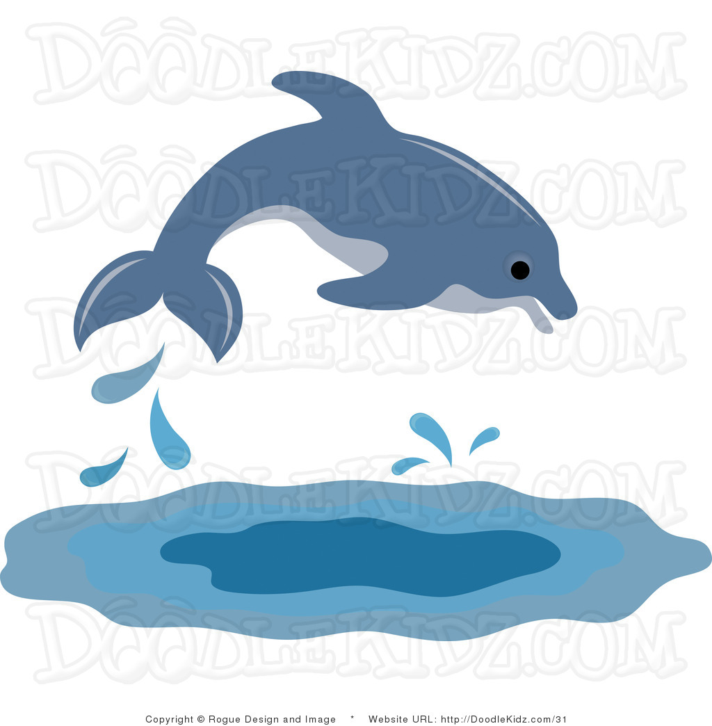 1024x1044 Dolphin Swimming Clipart