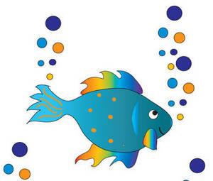 300x255 Free Cute Fish Clipart Image