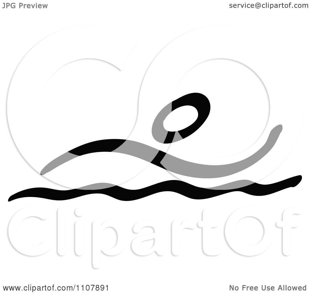 1080x1024 Clipart Black And White Stick Drawing Of A Swimmer