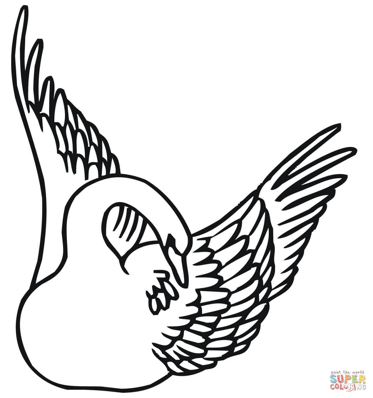 1200x1280 Swans Coloring Pages Free Coloring Pages