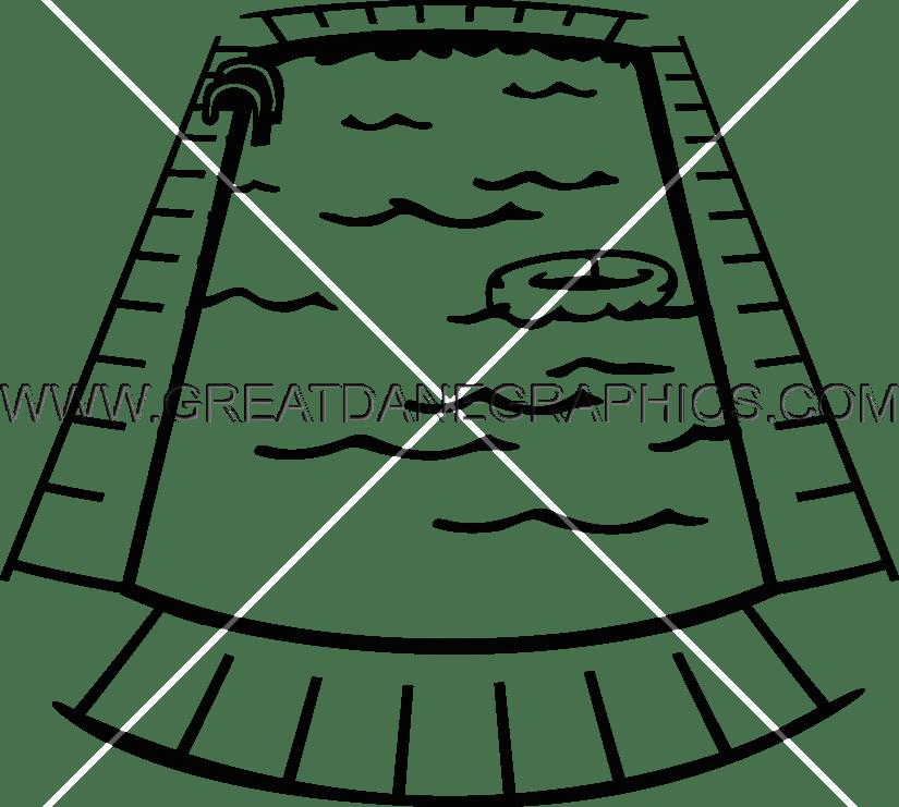 825x741 Swimming Pool Line Drawing