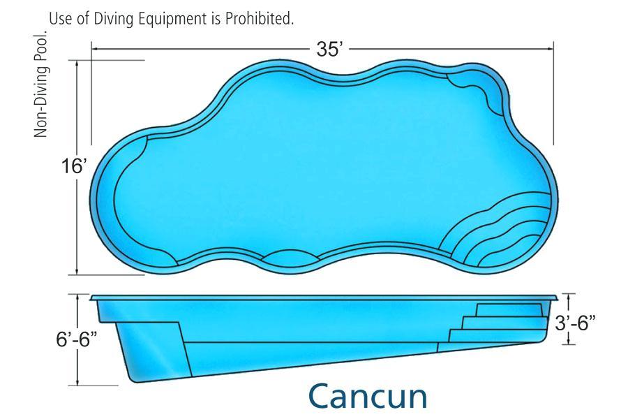 900x600 Swimming Pool Plan
