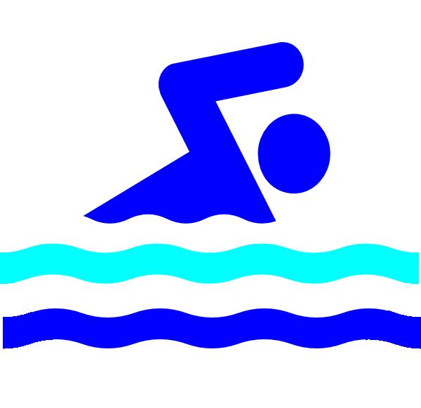 600x582 Swim Party Logo Clip Art