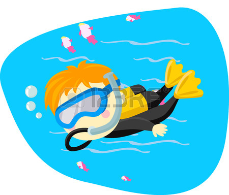 450x384 Children S Pool Party Royalty Free Cliparts, Vectors, And Stock