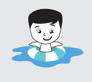 300x268 Kid Swimming