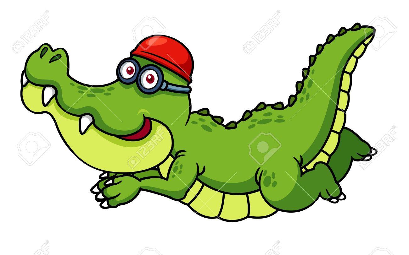 1300x812 Swimming Alligator Clipart, Explore Pictures