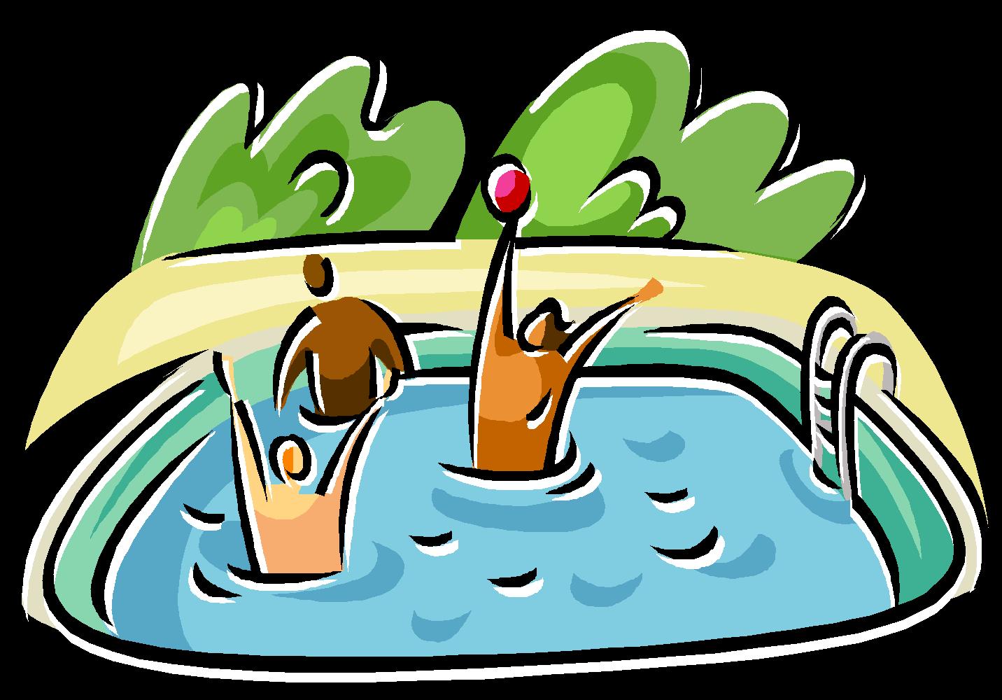 1432x1000 Swimming Pool Cartoon Clipart